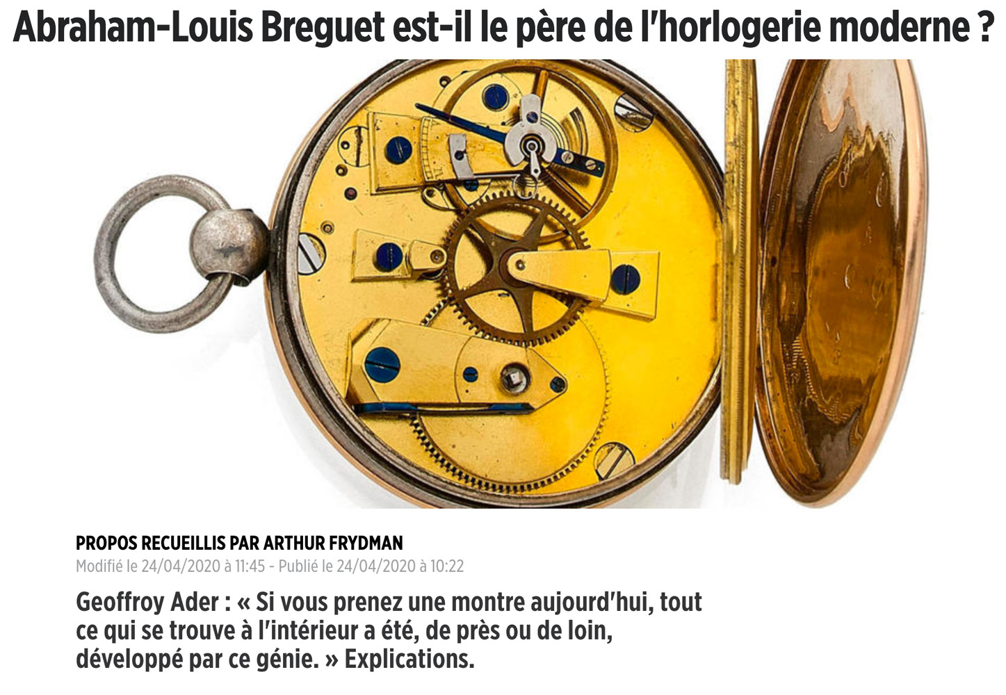 article-le-point-montres-avril-2020